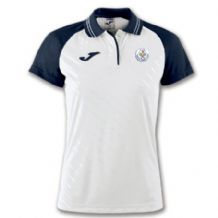 Tralee Tennis Club Joma Polo Women's Torneo II White/Navy Youth 2019